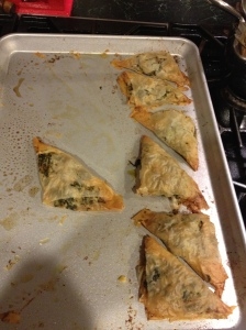 spanakopita finished pies