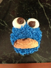 Not Your Normal Steam - Cookie Monster Cupcakes